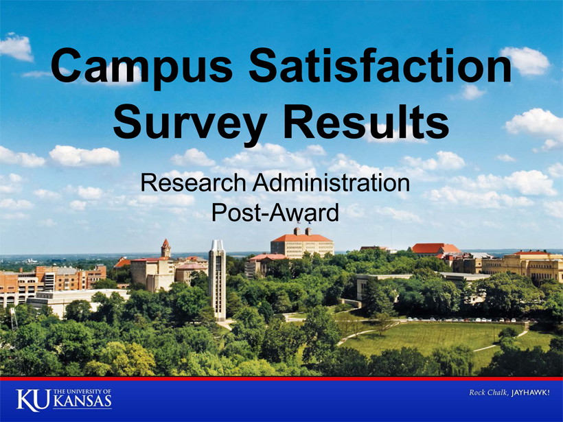 Campus Satisfaction Survey - Research Administration